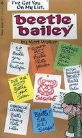 Beetle Bailey I've Got You On My List PB (1975 Tempo Books) 1-1ST