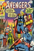 Avengers (1963 1st Series) National Diamond 92NDS