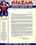 Captain Marvel Shazam Club News Letter (1945) 4506
