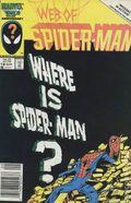 Web of Spider-Man (1985 1st Series) Mark Jewelers 18MJ