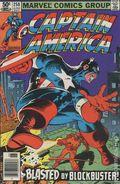 Captain America (1968 1st Series) Mark Jewelers 258MJ