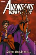 Avengers West Coast Darker than Scarlet TPB (2008 Marvel) 1-1ST