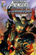 New Avengers/Transformers TPB (2008 Marvel/IDW) 1-1ST