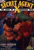 Secret Agent X Aug 1934 Replica SC (2007) 1-1ST