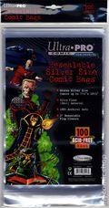 Comic Bags: Silver Resealable 100pk Polypropylene