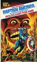 Captain America Holocaust for Hire PB (1979 Novel) 1-1ST