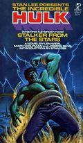 Incredible Hulk Stalker from the Stars PB (1978 Novel) 1-1ST