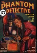 Phantom Detective Aug 1933 Replica SC (2008 Adventure House) Thirteen Cards of Death 1-1ST