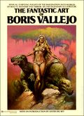 Fantastic Art of Boris Vallejo SC (1978 Ballantine Books) 1-1ST