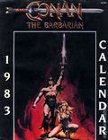 Conan the Barbarian Calendar 1983