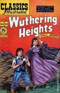 Classics Illustrated 059 Wuthering Heights (1949) Canadian Edition 1