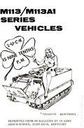 PS Magazine Reprint M113/M113A1 Series Vehicles (1971) 1971