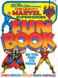 Mighty Marvel Superheroes Fun Book HC (1976 Fireside) 1-1ST