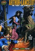 Graphic Universe: Arthur and Lancelot The Fight for Camelot GN (2008 Lerner) An English Legend 1-REP