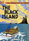 Adventures of Tintin The Black Island GN (1975) 1-REP