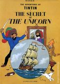 Adventures of Tintin The Secret of the Unicorn GN (1974 Little Brown and Company) 1-REP