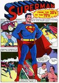 Superman from the 30's to the 70's HC (1971 Bonanza/Crown) 1A-REP