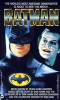 Batman The Movie PB (1989 A Warner Novel) 1-1ST