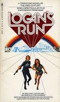 Logan's Run PB (1976 Bantam Novel) 1-REP