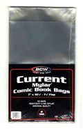 Mylar: Comic, Current 50pk 2Mil