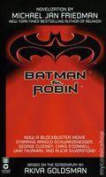 Batman and Robin PB (1997 Warner Novel) 1-1ST