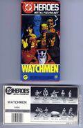 DC Heroes Watchmen Metal Figure Set (1987 RPG) 0F