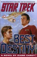 Star Trek Best Destiny HC (1992 Pocket Novel) 1-1ST