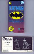 DC Heroes Role-Playing Game Batman Metal Figure Set (1989 Mayfair) #6506