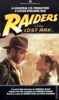 Raiders of the Lost Ark PB (1981 Ballantine Novel) 1-1ST