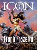 Icon A Retrospective by the Grand Master of Fantastic Art HC (1998 Evergreen) Frank Frazetta 1-1ST