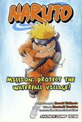 Naruto Mission Protect the Waterfall Village SC (2007 Novel) 1-1ST