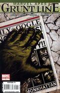 Marvel Apes Grunt Line Special (2009) 1
