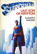 Superman Last Son of Krypton HC (1978 Novel) 1-1ST
