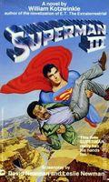Superman III PB (1983 A Warner Books Novel) 1-1ST