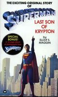 Superman Last Son of Krypton PB (1978 Novel) 1-1ST