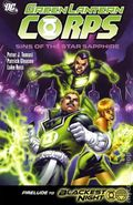 Green Lantern Corps Sins of the Star Sapphire TPB (2009 DC) 1-1ST