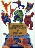 Origins of Marvel Comics HC (1974 Fireside/Simon and Schuster) 1-REP