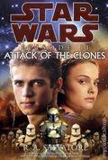 Star Wars Episode II Attack of the Clones HC (2003 A Del Rey Novel) 1A-1ST