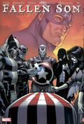 Fallen Son The Death of Captain America HC (2009 Marvel) Deluxe Edition 1-1ST