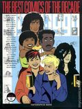 Best Comics of the Decade HC (1990 Fantagraphics) 2-1ST