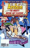 Archie Mighty Archie Art Players (2009 FCBD) 1