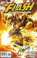 Flash Fastest Man Alive (2006) 1A.DF.SIGNED