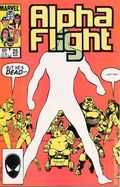 Alpha Flight (1983 1st Series) Mark Jewelers 25MJ