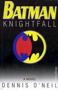 Batman Knightfall HC (1994 Bantam Books Novel) 1-1ST