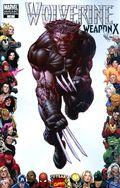 Wolverine Weapon X (2009 Marvel) 4C