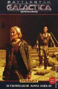 Battlestar Galactica Origins Starbuck and Helo TPB (2009) 1-1ST