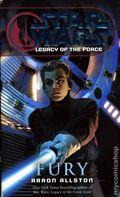 Star Wars Legacy of the Force Fury PB (2008 Del Rey Novel) 1-1ST