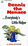 Dennis the Menace Everybody's Little Helper PB (1970 Fawcett Crest Books) 1-1ST