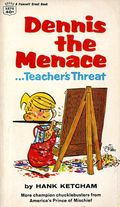 Dennis the Menace Teacher's Threat PB (1960 Fawcett Crest) 1-1ST