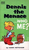 Dennis the Menace Who Me? PB (1963 Fawcett Crest Books) 1-1ST